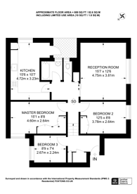 Large floorplan for Atherstone Court, Little Venice, W2