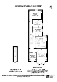 Large floorplan for Leghorn Road, Kensal Green, NW10