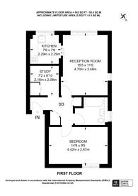 Large floorplan for Hawley Road, Chalk Farm, NW1