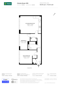 Large floorplan for Charles street, Crouch End, N19
