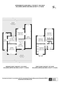 Large floorplan for Barn Way, Wembley, HA9