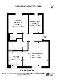 Large floorplan for Massingberd Way, Tooting Bec, SW17