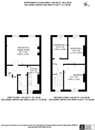 Large floorplan for Fentiman Road, Vauxhall, SW8