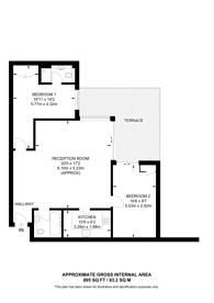 Large floorplan for Barrier Point Road, E16, Royal Docks, E16