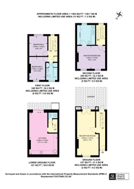 Large floorplan for Cavaye Place, Chelsea, SW10