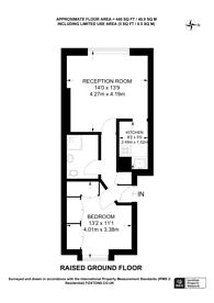 Large floorplan for Kensington Gardens Square, Bayswater, W2
