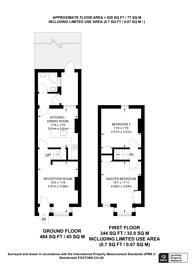 Large floorplan for Coleridge Road, London, N12 8DE, North Finchley, N12