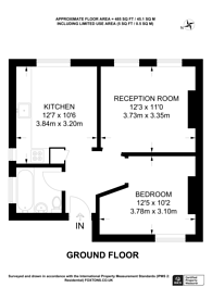 Large floorplan for Salcombe Road, Stoke Newington, N16