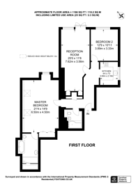 Large floorplan for Glebe Avenue, Ickenham, UB10