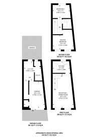 Large floorplan for Baring Street, Islington, N1