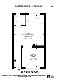 Large floorplan for Rockley Court, Shepherd's Bush, W14