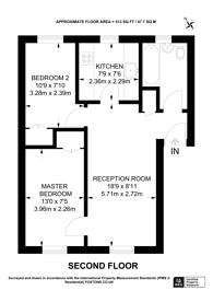 Large floorplan for Litchfield Avenue, Stratford, E15