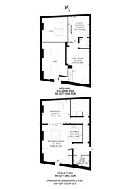Large floorplan for Corsair House, Isle Of Dogs, E14