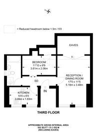 Large floorplan for Heathfield Road, Croydon, CR0