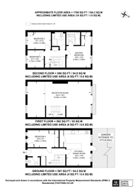 Large floorplan for Brocas Close, Swiss Cottage, NW3