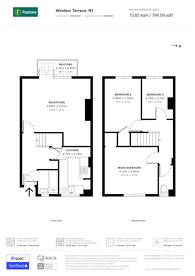Large floorplan for Windsor Terrace, Islington, N1