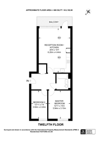 Large floorplan for Wellington Quarter, Woolwich, SE18