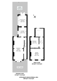 Large floorplan for Gough Road, Stratford, E15