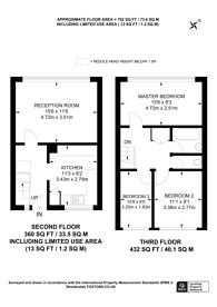 Large floorplan for Phipps Bridge Road, Morden, CR4