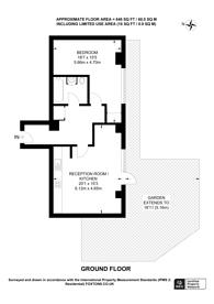 Large floorplan for Radnor House, Norbury, SW16
