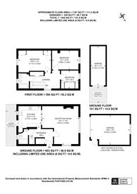 Large floorplan for Swinton Close, Wembley Park, HA9
