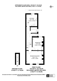 Large floorplan for Arnold Road, Tottenham, N15