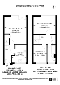 Large floorplan for North End Crescent, West Kensington, W14