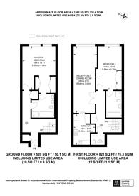 Large floorplan for Young Street, Kensington, W8