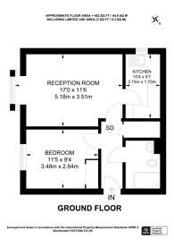 Large floorplan for Oakhill Road, Sutton, SM1