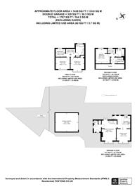 Large floorplan for Dibdin Close, Sutton, SM1