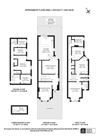 Large floorplan for Queen Anne Avenue, Bromley South, BR2