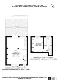 Large floorplan for Johnston Terrace, Cricklewood, NW2