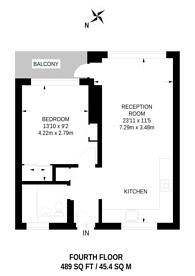 Large floorplan for Gerridge Street, Waterloo, SE1