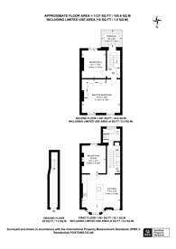 Large floorplan for Lancaster Road, Notting Hill, W11