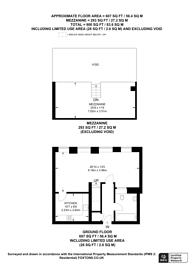 Large floorplan for Este Road, Clapham Junction, SW11