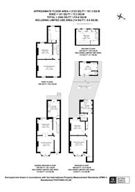 Large floorplan for Greenwood Road, Hackney, E8