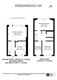 Large floorplan for Phipps Bridge Road, CR4, Mitcham, CR4