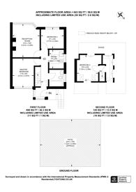 Large floorplan for Harlington Road West, Feltham, TW14