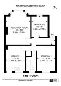 Large floorplan for Alexandra Avenue, Rayners Lane, HA2