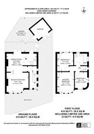 Large floorplan for Kenton Lane, Belmont, HA3