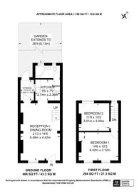 Large floorplan for Harbinger Road, Isle Of Dogs, E14