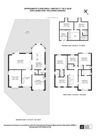 Large floorplan for The Drive, Ickenham, UB10