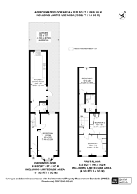 Large floorplan for Hollydale Road, Nunhead, SE15