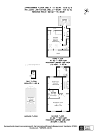 Large floorplan for Kings Road, Chelsea, SW10