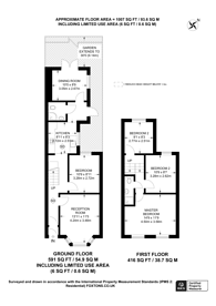 Large floorplan for Dunedin Road, E10, Leyton, E10