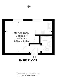 Large floorplan for Colville Gardens, Notting Hill, W11