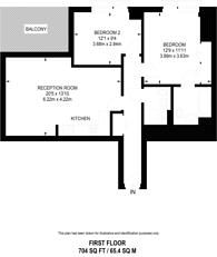 Large floorplan for Rodney Street, Islington, N1