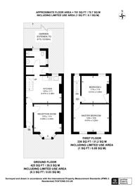 Large floorplan for Fearon Street, North Greenwich, SE10