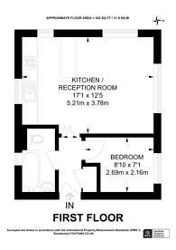 Large floorplan for Georgia Road, New Malden, KT3