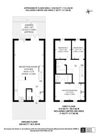 Large floorplan for Beaumont Drive, Worcester Park, KT4